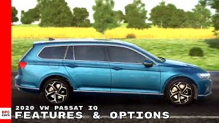 New 2020 VW Passat IQ Features & Options