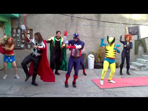 Gangnam Style. Vengadores