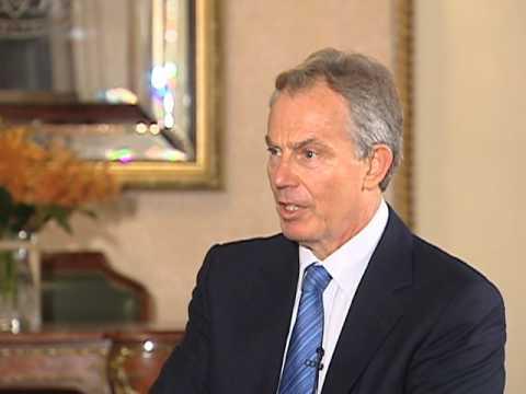 Former British PM Urges Restraint by Israelis, Palestinians