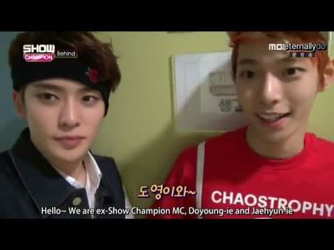 [ENG 1080p] 160426 Show Champion Backstage NCT U Full Cut