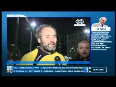 """TRASMISSIONE """"CALCIO LIGURIA"""" (PRIMOCANALE SPORT) – 29 MARZO 2012"""