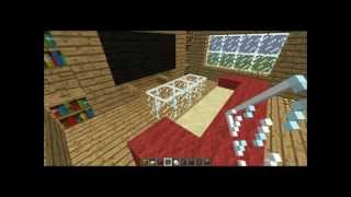 Minecraft - How to make a couch and a table