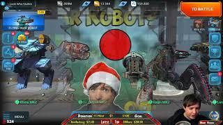 War Robots 2 Hours Mk2 Pursuer & Variety Live Gameplay - WR