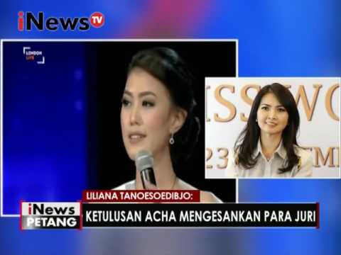 Telewicara : Liliana Tanoesoedibjo - Chairwoman Of Miss Indonesia Organization  - iNews Petang 19/12