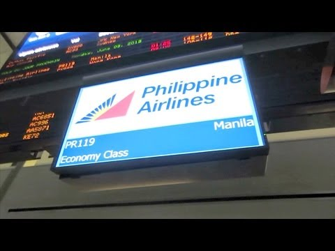 (1/3) PR119 Philippine Airlines RP-C7773 Boeing 777 - Vancouver to Manila FLIGHT VLOG
