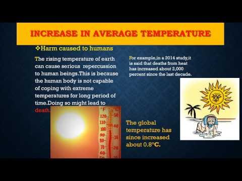[Global Warming PowerPoint Presentation]
