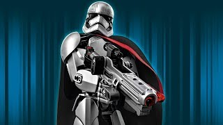 Hướng dẫn lắp ghép xếp hình Star Wars Captain Phasma KSZ605-4 (82 Miếng Ghép)