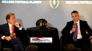 Nick Sabin, Chris Peterson, CFP Press Conference