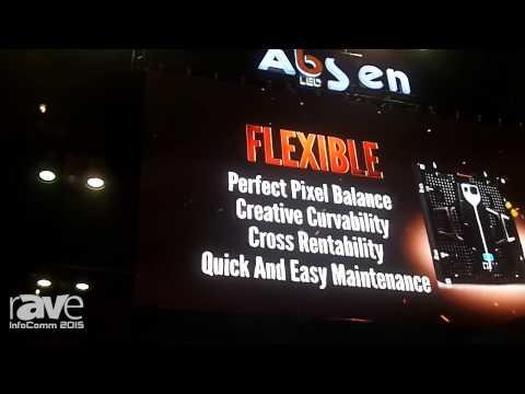 InfoComm 2015: Absen Shows X5 Indoor and Outdoor LED