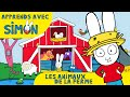 Simon - Simon et les ANIMAUX de la FERME HD [Officiel] Dessin animé pour enfants