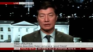 Sikyong Dr. Lobsang Sangay's Interview with BBC World News