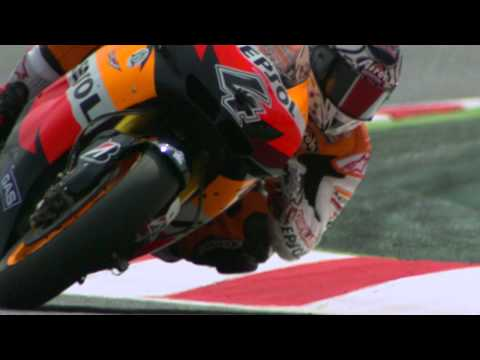 Andrea Dovizioso via 1000fps - The perfect lap