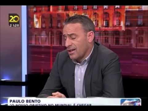 """Paulo Bento """"Eu já treinei um grande clube"""", em entrevista a Judite de Sousa"""