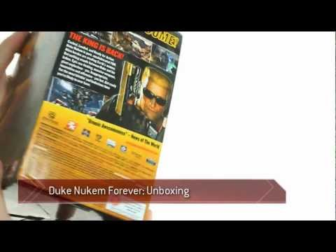 Duke Nukem Forever Balls of Steel Edition unboxing