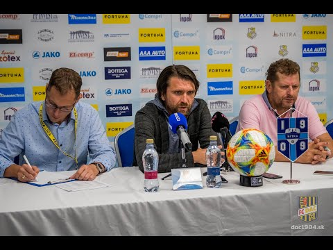 FC Nitra - DAC 1904 (1:2) Post Match Press Conference