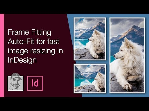 Frame Fitting Auto-Fit for fast image resizing in InDesign