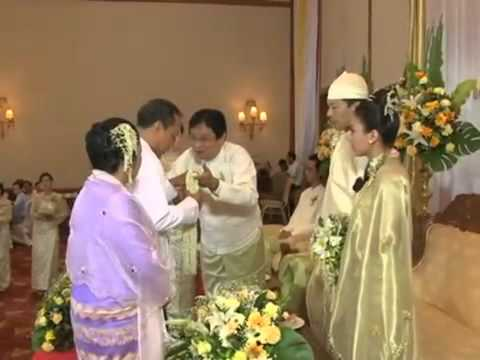 Burmese Traditional Wedding - YouTube.flv