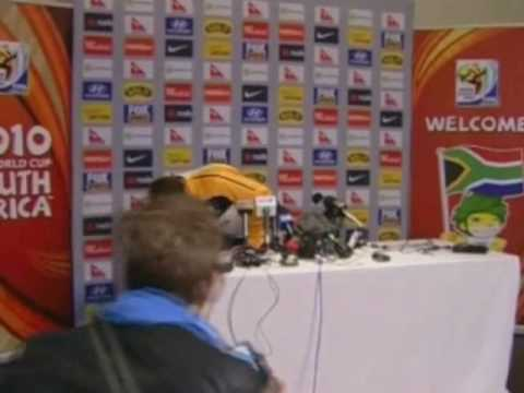FIFA World Cup 2010 - Harry Kewell and Tim Cahill of Australia talk about the Germany game