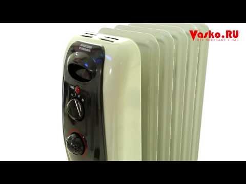 Масляные обогреватели  - обзор популярных моделей масляных радиаторов в Vasko.Ru!