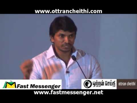 Vallinam First Look Press Meet - Actor Chandru Speech