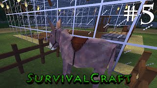 ( GAMEPLAY ) SURVIVALCRAFT ANDROID - SOBREVIVÊNCIA DIA # 5