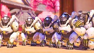 FUNNY Moments Only OLD Overwatch Players Remember