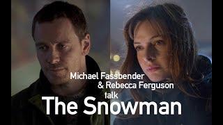 Michael Fassbender & Rebecca Ferguson interviewed by Simon Mayo