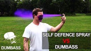 Self Defence Spray VS Dumbass