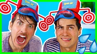 BEST DUNK HAT CHALLENGE! W/ ANTHONY PADILLA
