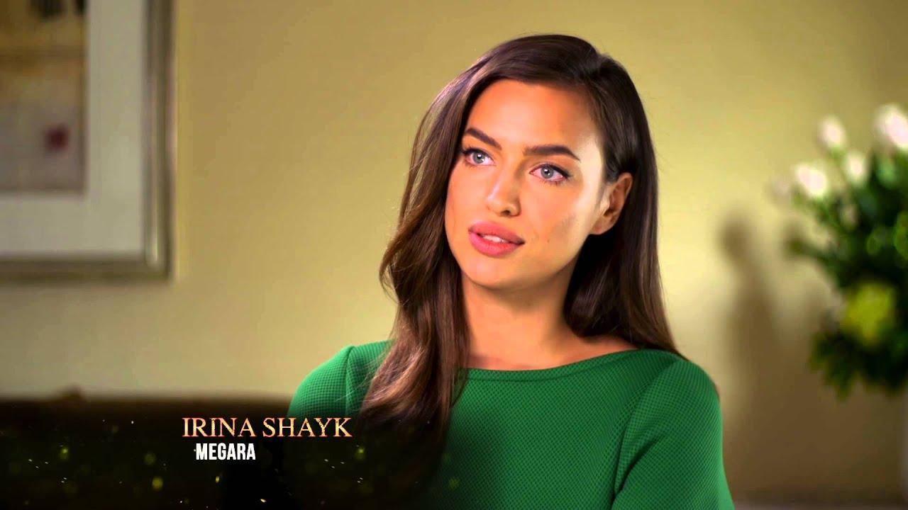 Irina Shayk talks about starring as Megara in 'Hercules ...