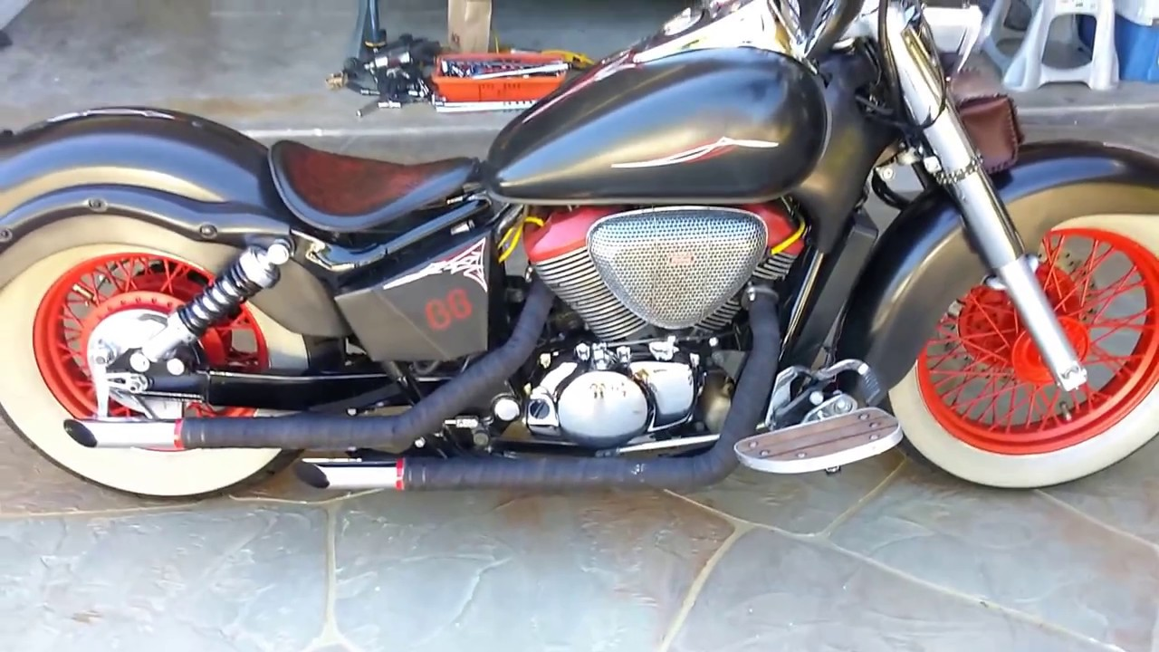 2003 honda shadow ace 750 youtube. Black Bedroom Furniture Sets. Home Design Ideas