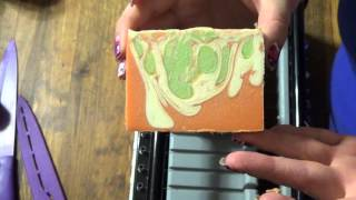Cutting Peach Margarita Hemp Milk Soap