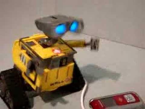 Wall-E játékrobotok
