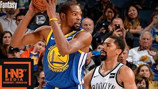 Golden State Warriors vs Brooklyn Nets Full Game Highlights | 11.10.2018, NBA Season