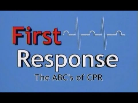 First Aid Training Video - How To Perform  Abc's Of Cpr (adult Episode) video