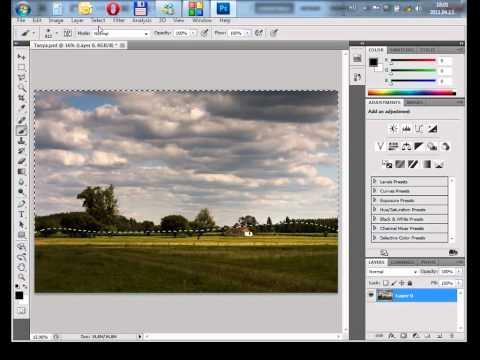 Photoshop gyorstalpaló 4. - Rétegek kezelése és maszkolása