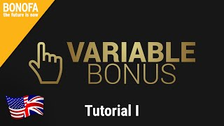 Variable Bonus – Tutorial 1 – What are you required to do for this bonus? | english