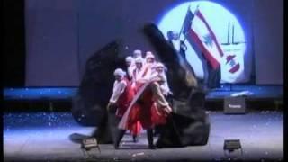 Sociedad Libanesa - Ballet Saufar Lubnan - Colectividades 2010
