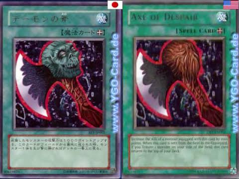 Yu-Gi-Oh! La Censura En Las Cartas