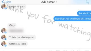 How to impress a girl on facebook in just 2 minutes?