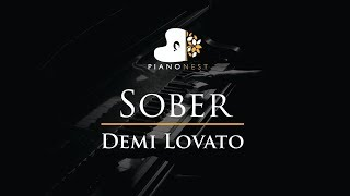 Download Lagu Demi Lovato - Sober - Piano Karaoke / Sing Along / Cover with Lyrics Gratis STAFABAND