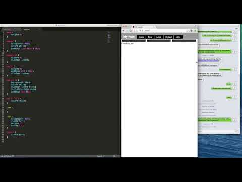 How to create CSS Layouts - Web Development Tutorial for Beginners (#3) - with HTML & CSS