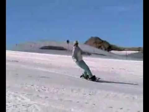 Nauka Jazdy Na Snowboardzie - Skret Ciety