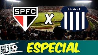 PÓS-JOGO: TALLERES ELIMINA SÃO PAULO da Libertadores | #TalleresDay | SHOW DE BOLA (13/02/19)