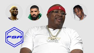 E-40 Tells Courtside Stories About LeBron, Drake, and Travis Scott | Full Size Run
