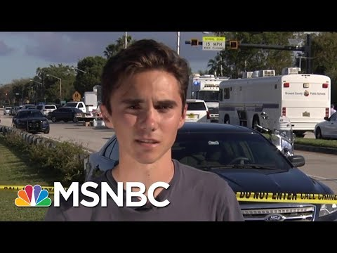Student On Shooting: I Don't Want Something Like This To Ever Happen Again | Velshi & Ruhle | MSNBC