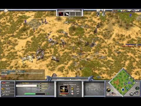 Magyar (Set) vs Mista (Zeus) - Age of Mythology The Titans Game 1