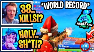 EVERYONE In *SHOCK* After INSANE DUO Gets 38 KILL WORLD CUP GAME!!! [WORLD RECORD]