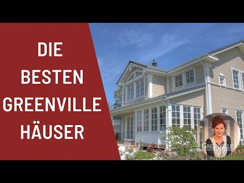 Greenville, Amerikanisches Holzhaus, New England, Schwedenhaus