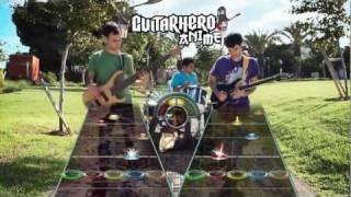"""[Guitar Hero] """"le Internet Medley"""" (Guitar + Bass) - The GAG Quartet"""